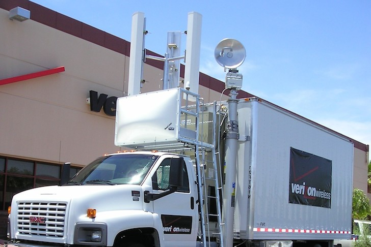 Verizon's Cell On a Light Truck (COLT)