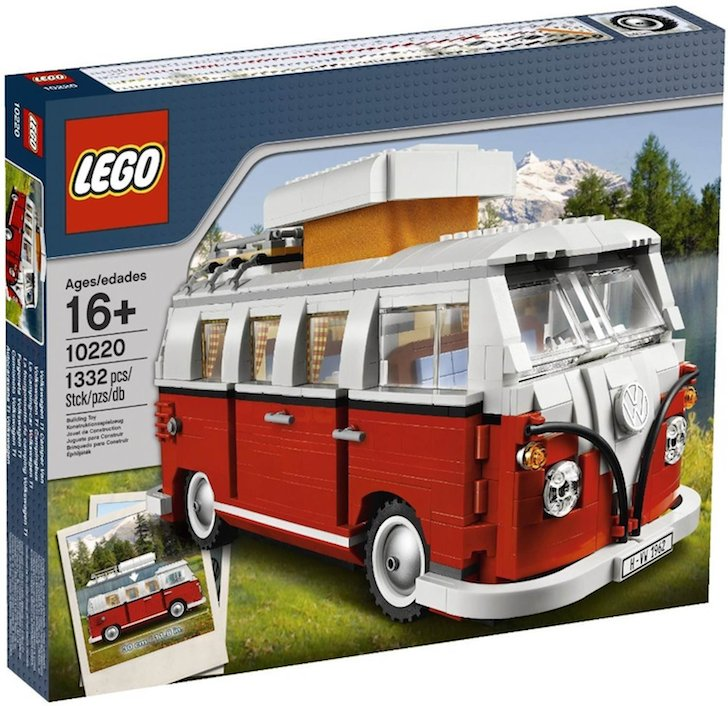 Volkswagen Advanced LEGO kit