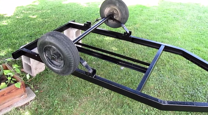 Why A Welded Trailer Frame Is Best For Your DIY Teardrop