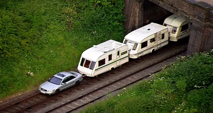 This Is What Train Travel Would Be Like If Train Cars Were Camper Vans [VIDEO]