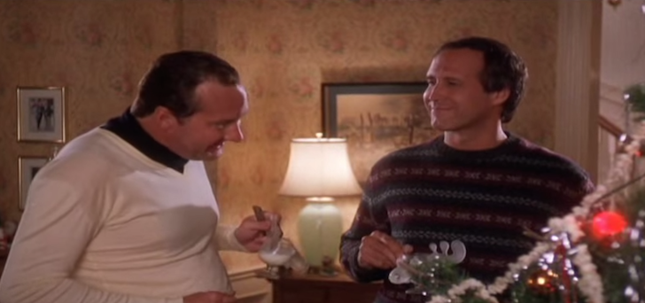 Cousin Eddie explaining how he got his RV