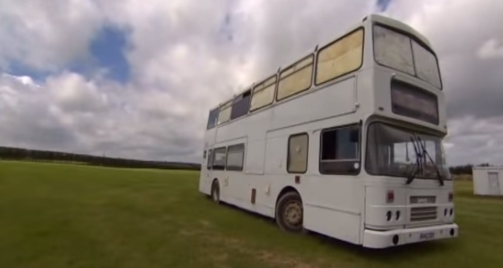 Double Decker Bus Into Mortgage Free Home On Wheels