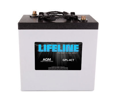 Lifeline GPL-4CT Battery