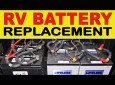 How To Replace Your RV House Batteries With The AGM Type
