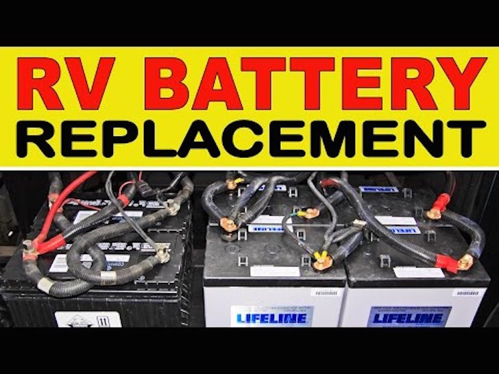rv house battery wiring how to replace your rv house batteries with the agm type  how to replace your rv house batteries