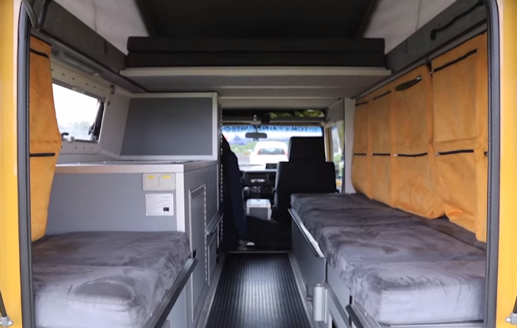 Inside the special Toyota Land Cruiser