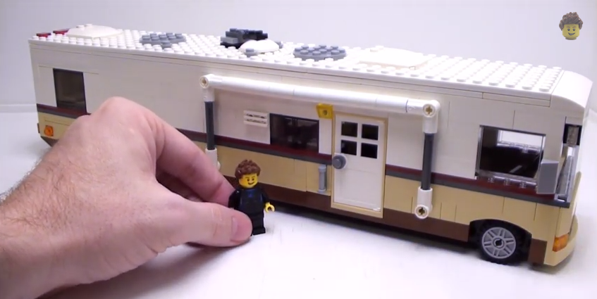 This Man Made A Class A Motorhome Out Of Legos It S Even