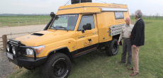 John Has Driven This Toyota Land Cruiser Motorhome From London To South Africa – Twice!