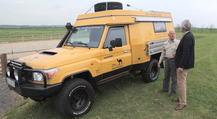John's World Cruiser motorhome