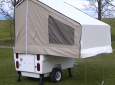 This Kompact Kamp Mini Mate Motorcycle Trailer Takes Two Minutes To Set Up