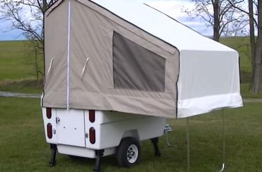 Kompact Kamp Mini Mate motorcycle camper