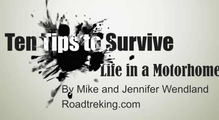 10 Things Couples Should Remember To Survive In A Motorhome Together. #10 Is So Important.