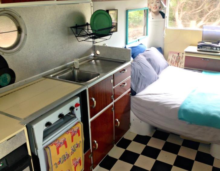 Miss Myrtle vintage caravan