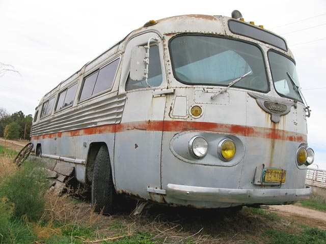 Old Flxible bus