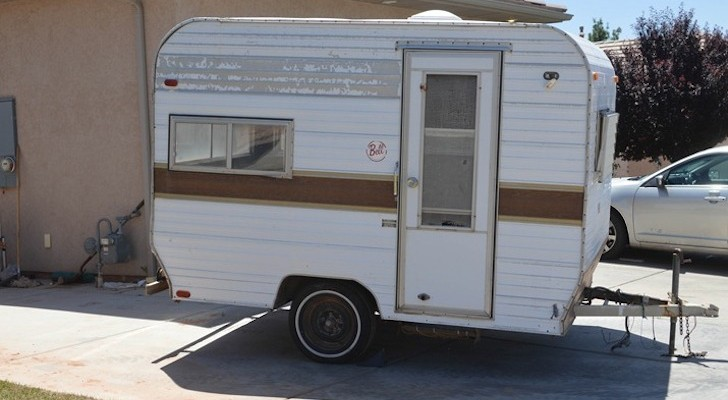 Original 1973 Bell travel trailer