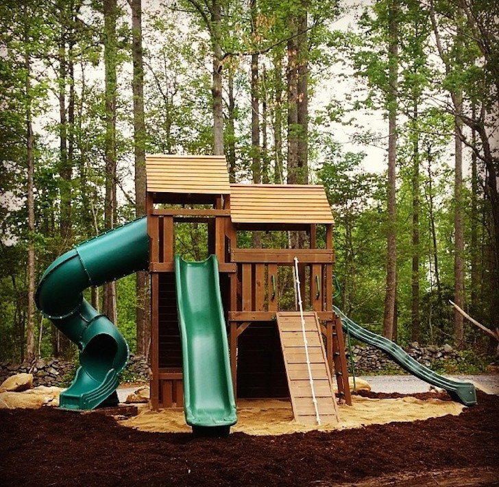 Play area at Smokey Mountain Premier RV Park