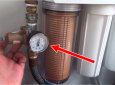RV water filtration system video