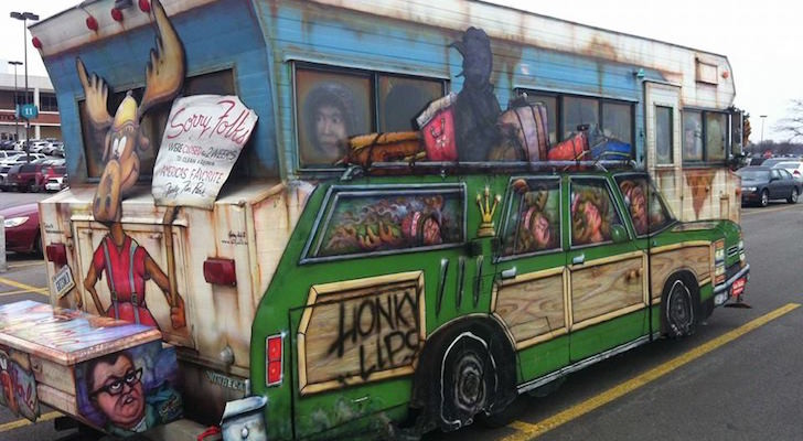 1971 Winnebago Brave Motorhome Turned Into A National Lampoon's Masterpiece
