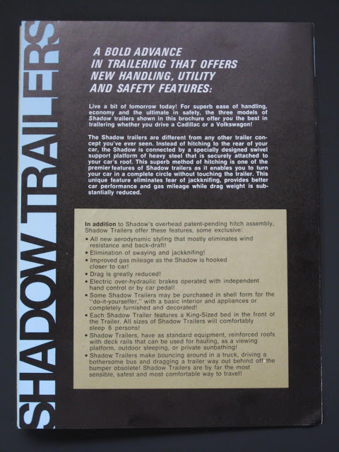 Shadow trailer advertising materials