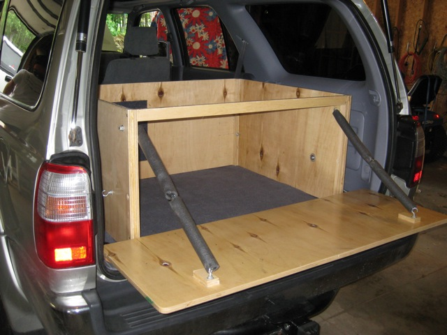 The box installed in the 4Runner