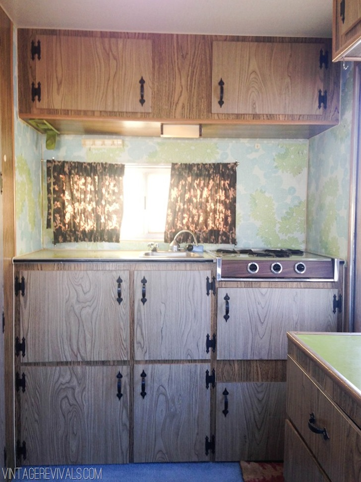 This trailer was renovated by Vintage Revivals