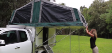 Trayon Campers Dual-Cab model setup