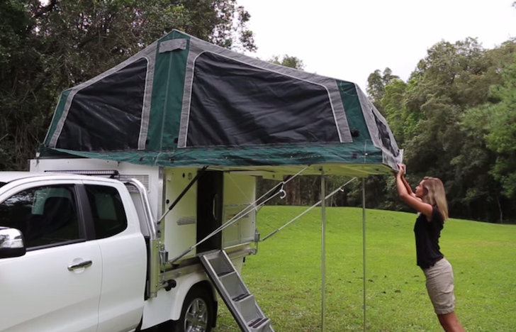 See The Dual Cab Model By Trayon Campers