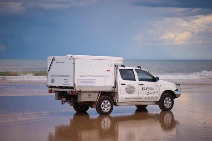 Trayon Dual Cab Camper