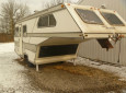 Vintage Harmon Shadow fifth wheel trailer
