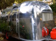 1960s Airstream Caravel from outside