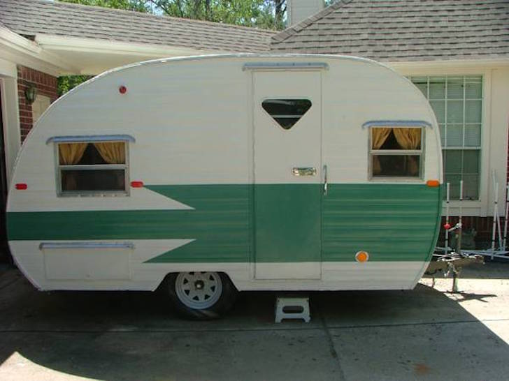 1961 Mobile Scout Trailer
