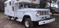 Rare 1966 Dodge Power Wagon W300 Chinook Truck Camper