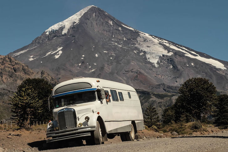 1966 Mercedes Benz bus converted into a motorhome