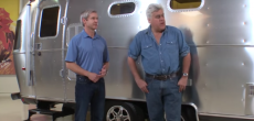 Airstream CEO with Jay Leno
