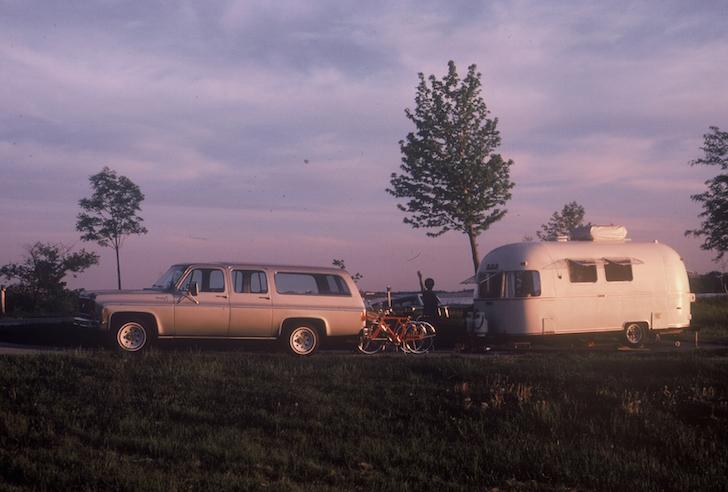 Argosy trailer in 1979