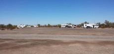 BLM camping around Quartzsite