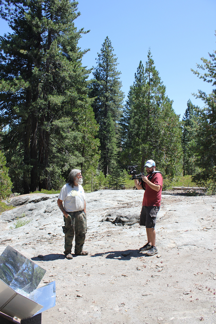 Bob Wells and Michael Tubbs in the Sierra National Forest