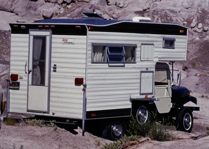 CJ5 Jeep Camper