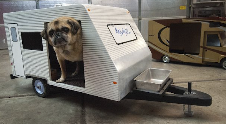 These Dog Houses Look Just Like Your Motorhome Or Travel Trailer