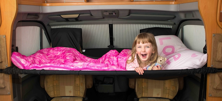Cabbunk Adds An Extra Bed For A Child In Your Motorhome
