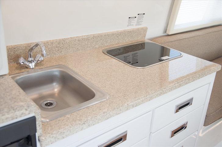 Fiber-granite countertops