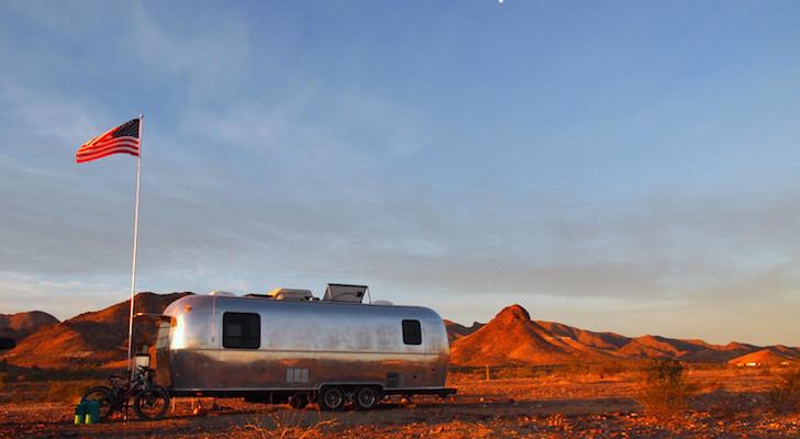 Free Camping at Dome Rock in Quartzsite, AZ