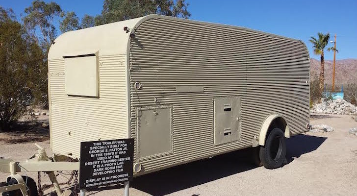 General Patton used this personal trailer