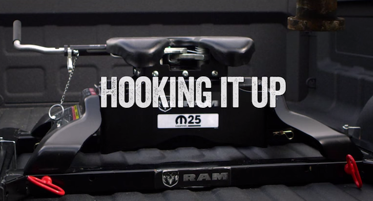 Rv Bumper Hitch >> How To Hitch A Fifth Wheel Trailer Like A Ram Trucks Engineer
