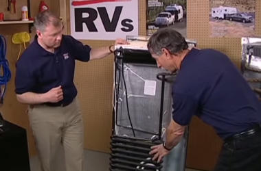 How level is level enough for an RV refrigerator