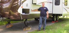 How to setup your RV at a campsite