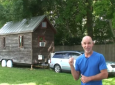 This Man Lives In A Tiny House But Vacations In A Tiny-er RV