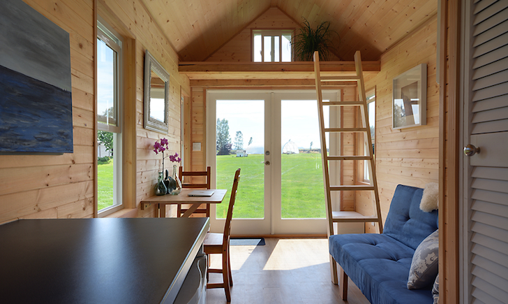 Inside Poco Edition tiny home