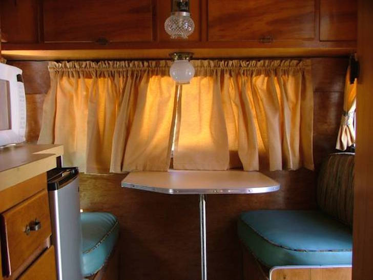 1961 Mobile Scout Travel Trailer