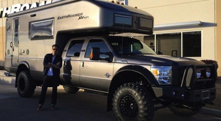 Musician John Mayer Shows Off His Beastly EarthRoamer Truck Camper